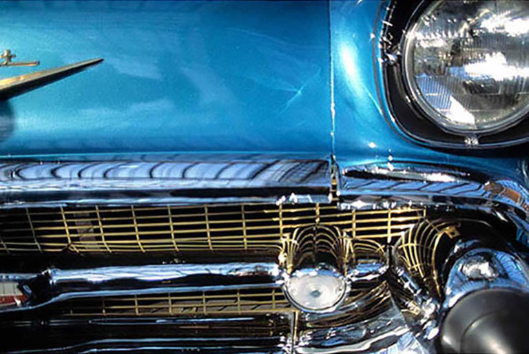 28GS-011 Classic blue Chevy-2-