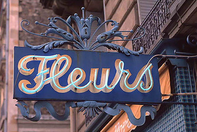 72GS-021 Fleurs neon sign-Paris-2-